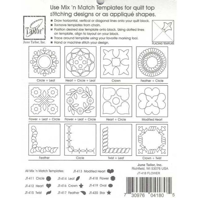 June Tailor Mix 'n Match Templates - Circle