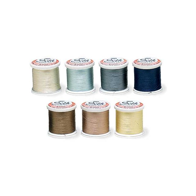 YLI Silk 100 Neutral Applique Assortment -7 spools for the price of 6!