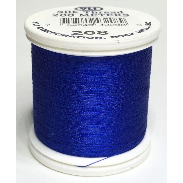 YLI Silk 100 Thread -208 Ocean Blue
