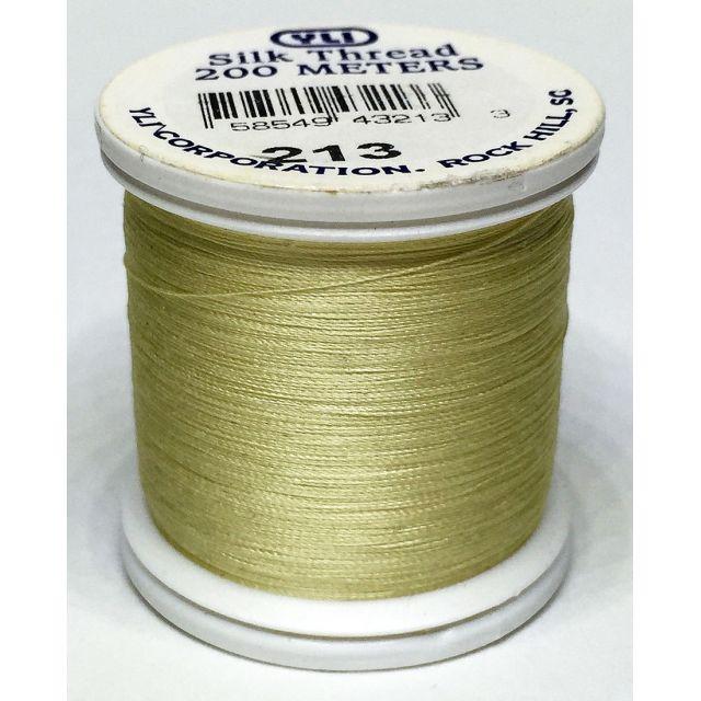 YLI Silk 100 Thread -213 Buttermilk