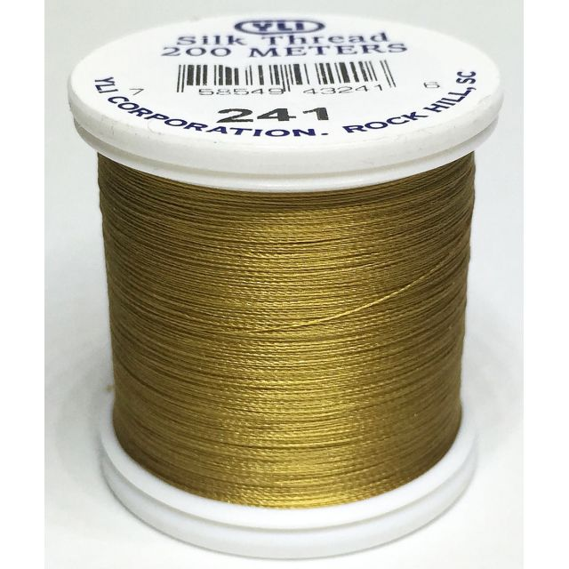YLI Silk 100 Thread -241 Rich Gold