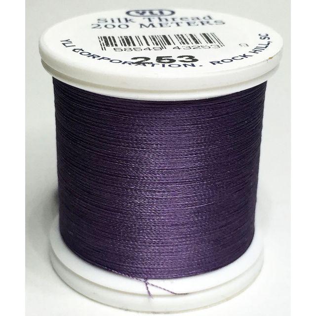 YLI Silk 100 Thread -253 Purple