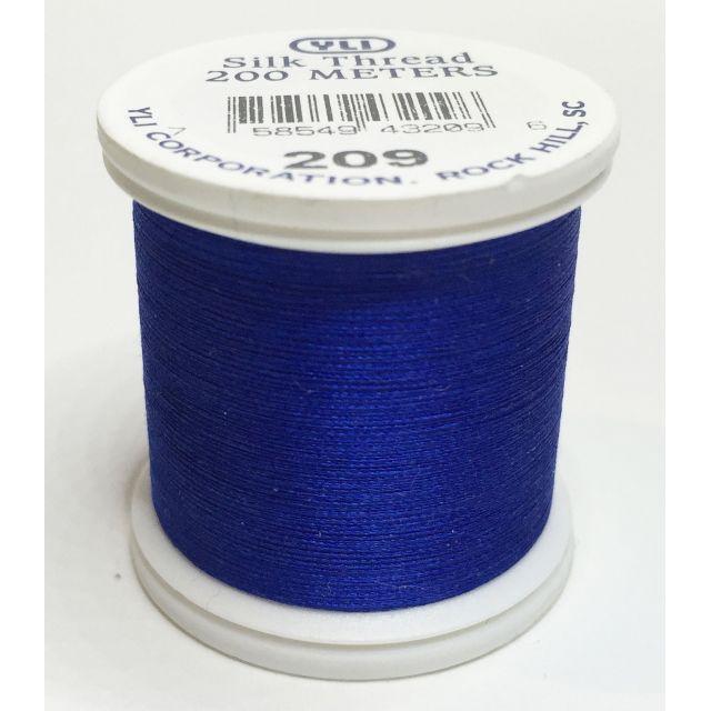 YLI Silk 100 Thread -209 Blue