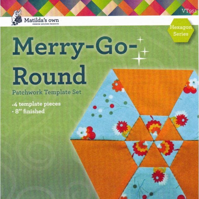 Matilda's Own Merry-Go-Round Patchwork Template Set
