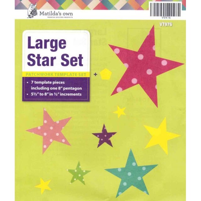 Matilda's Own Stars Set - Large