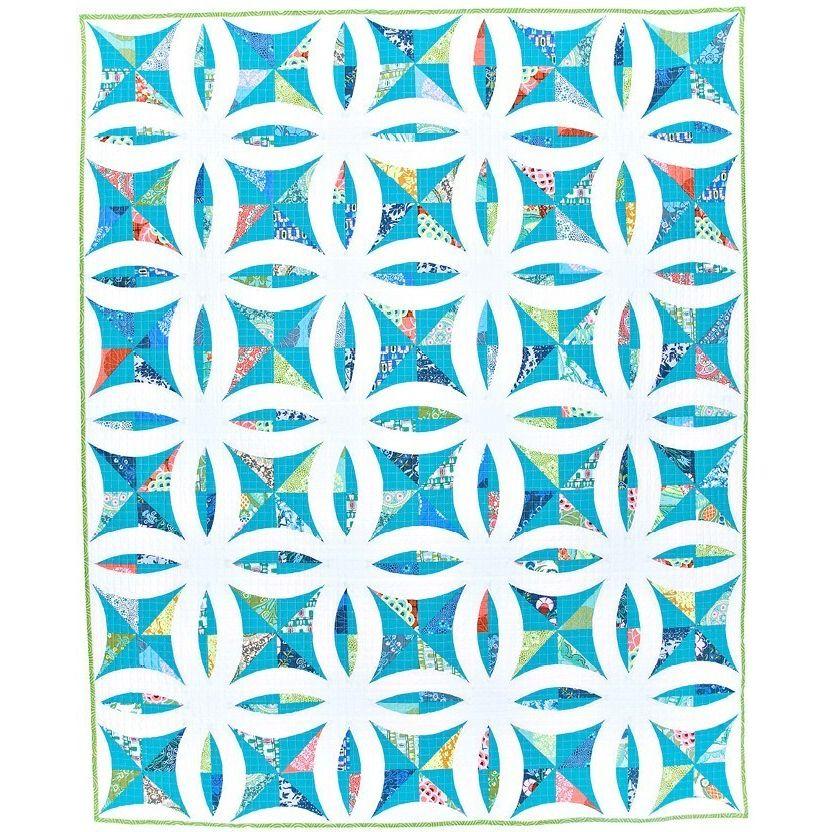 Metro Lattice Quilt Pattern By Sew Kind Of Wonderful