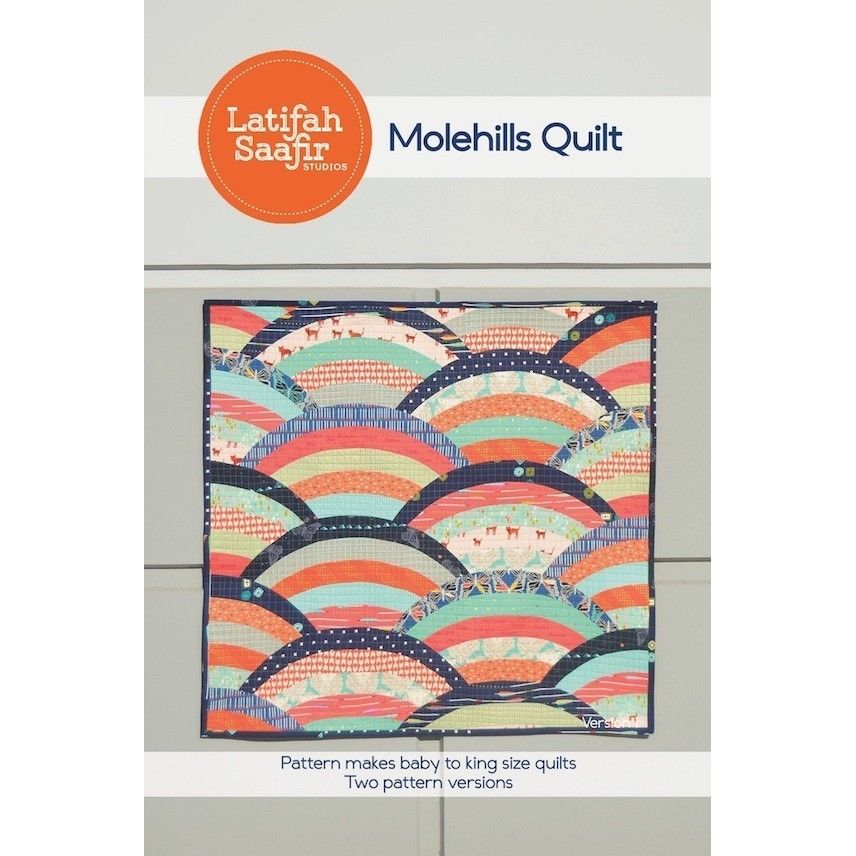 Molehills Quilt Pattern By Latifah Saafir Studios
