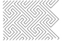 Full Line Stencil Modern Maze by Hancy Full Line Stencils Pounce Pads & Quilt Stencils - OzQuilts
