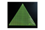 """Matilda's Own 12"""" Tall 60 Degree Triangle Ruler by Matilda's Own - Triangles 60 Degrees"""